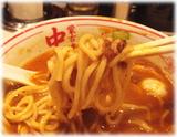 蒙古タンメン中本 味噌インドラーメンの麺