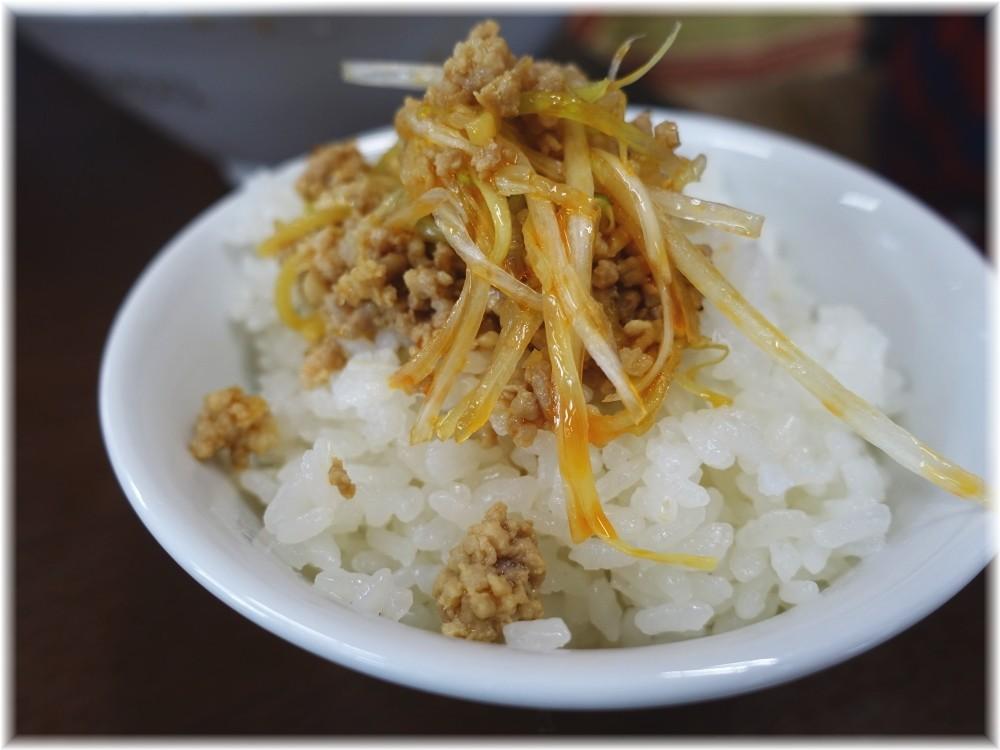 江ざわ 上担々麺のひき肉onライス
