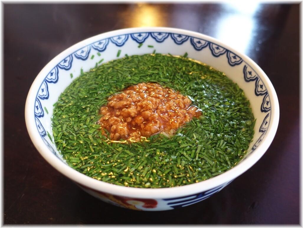 BIKA(美華)韮菜湯麺(ニラそば)