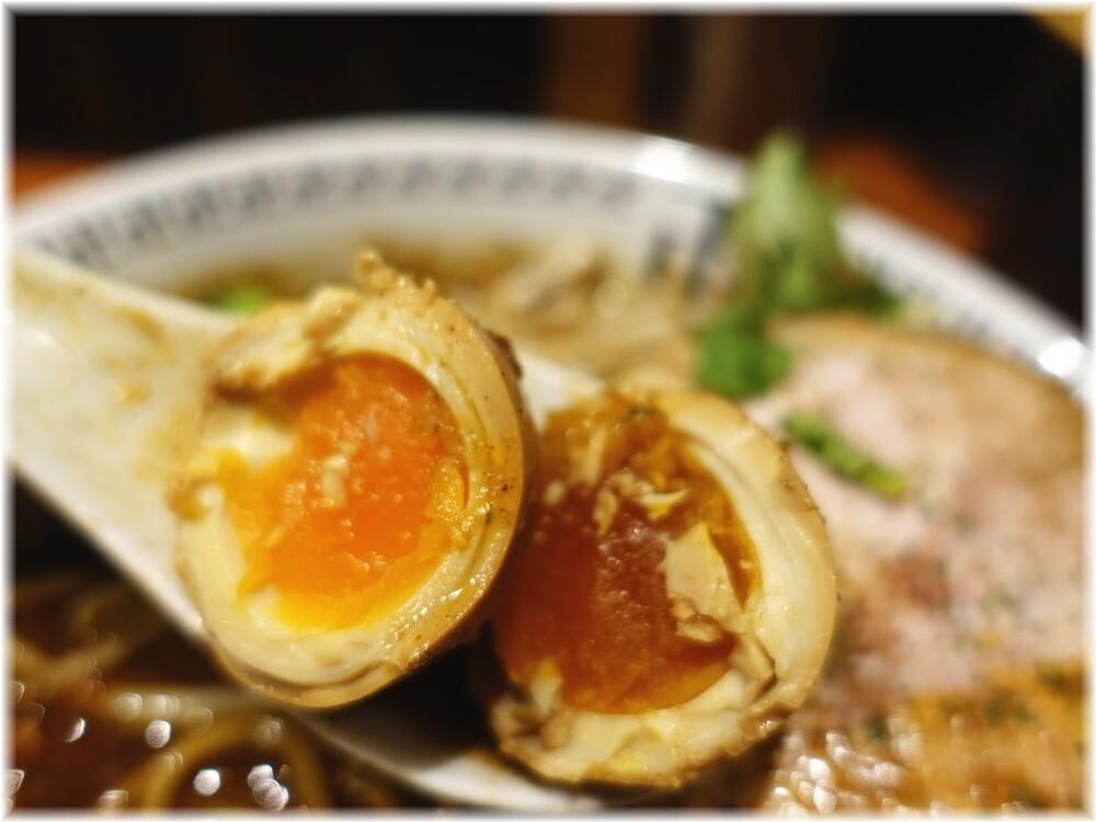 卍力秋葉原店 スパイス・特製ラー麺の味玉
