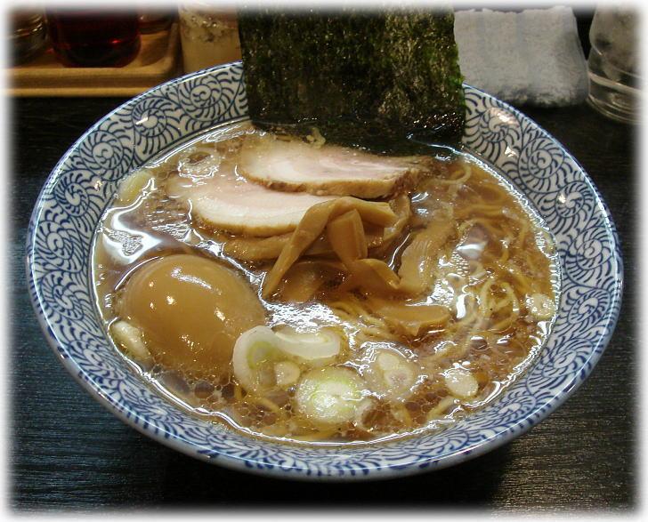 多賀野 中華そば+煮玉子