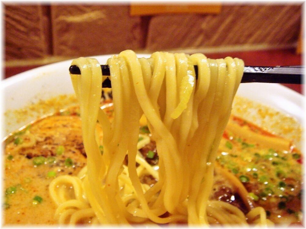 担担麺花さんしょう 特製酸辣担担麺の麺