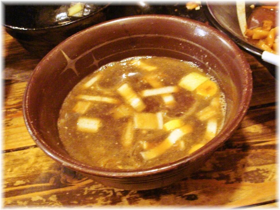 G凪3 G凪流の油そばの凪油(スープ)