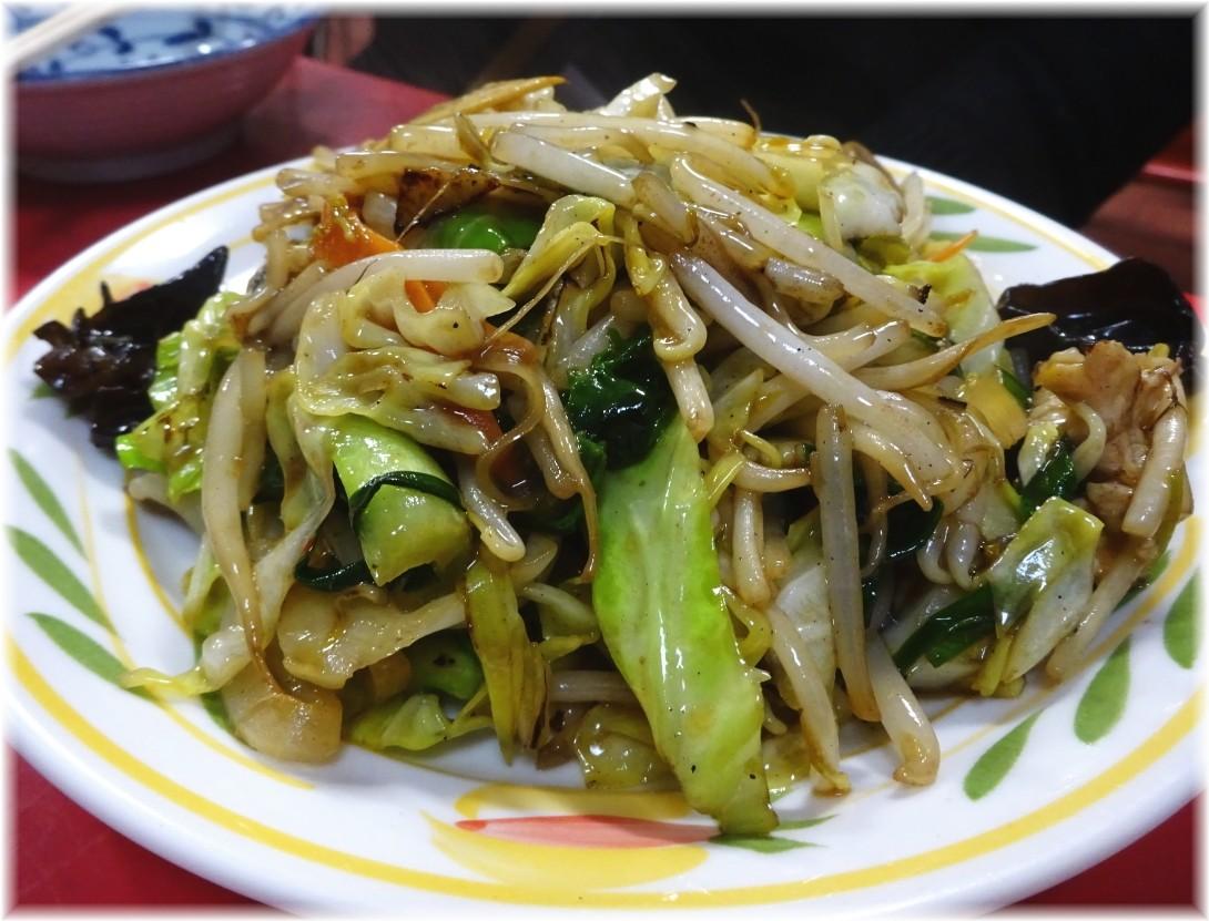 中華康楽 野菜炒め