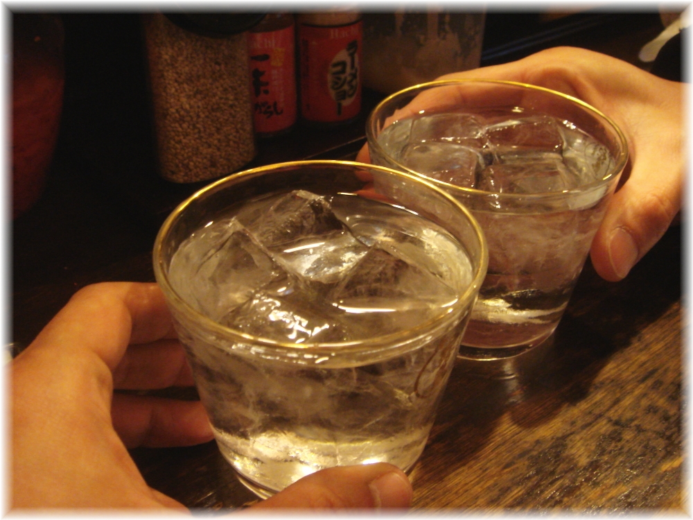 kenzocafe 乾杯芋ロック