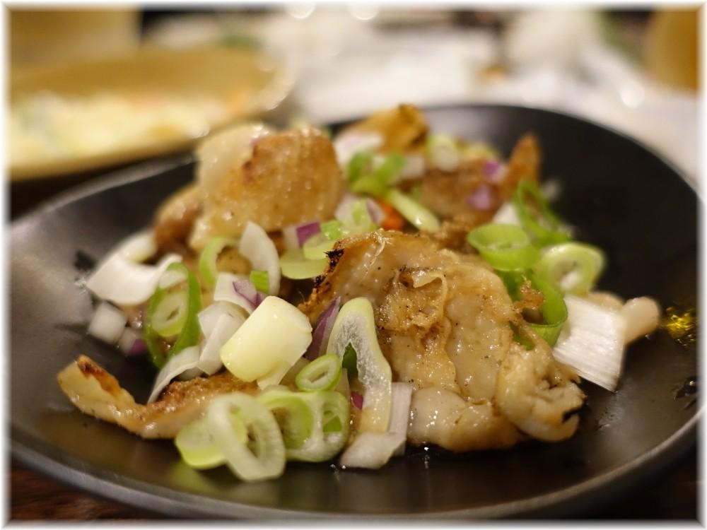 金町製麺8 豚バラネギ塩ダレ焼き
