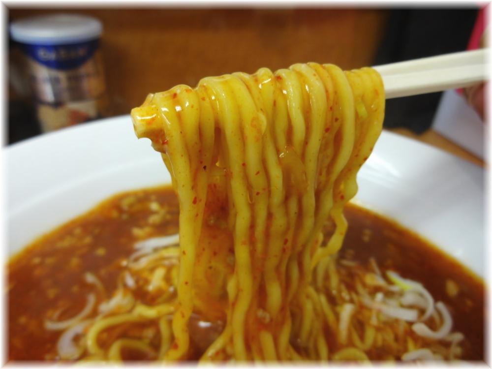 麺処池田 坦坦麺の麺
