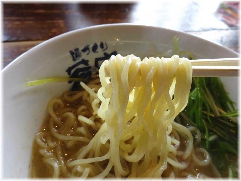蒼空 磯潮らぁめんの麺