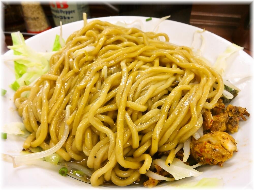 ぎょうてん屋 ぎ郎汁なしの麺1