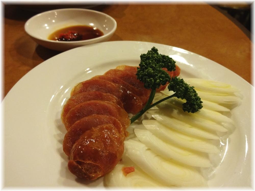 台南担仔麺 腸詰