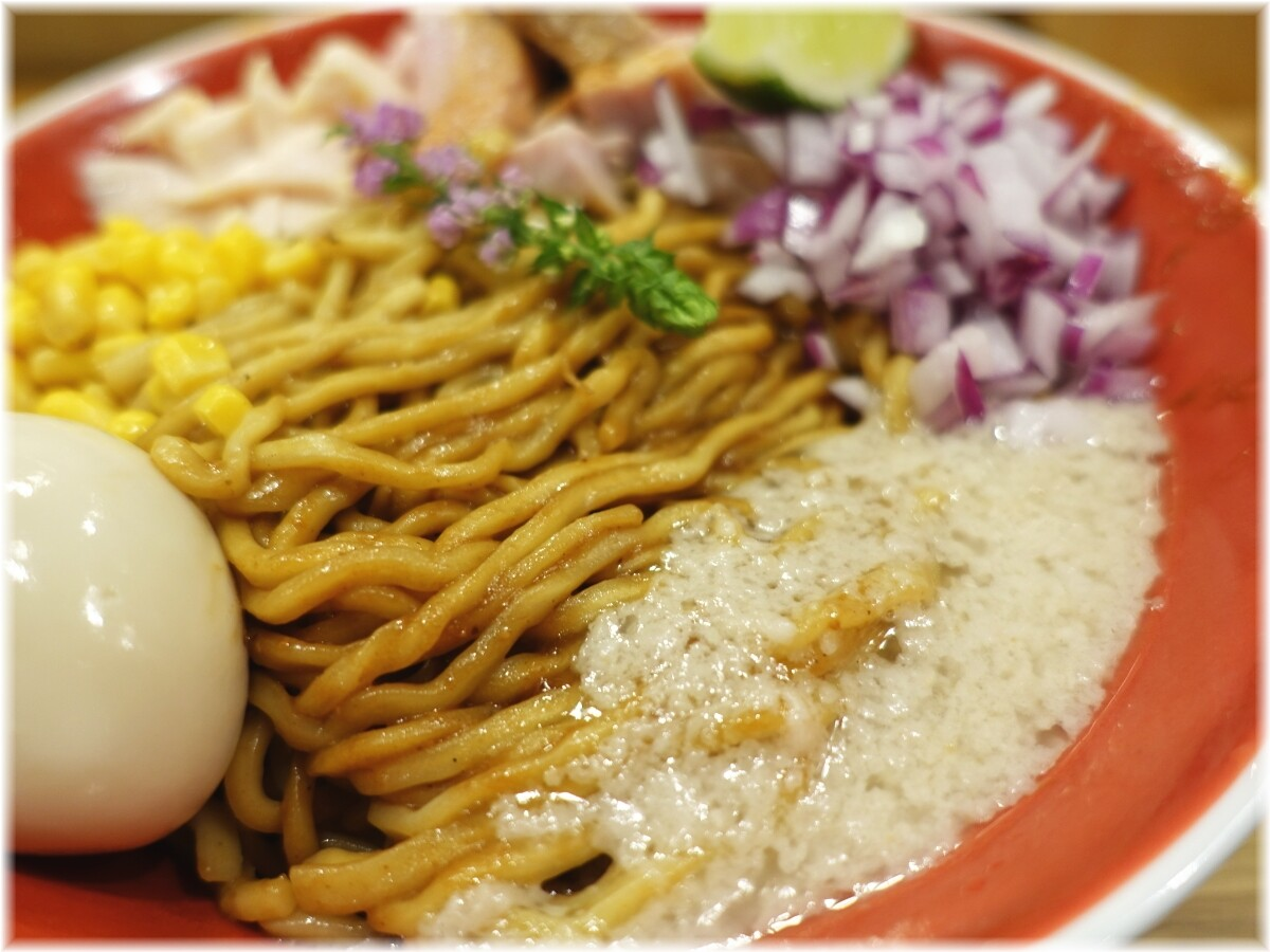 柿田川ひばり2 味噌和え麺の具2