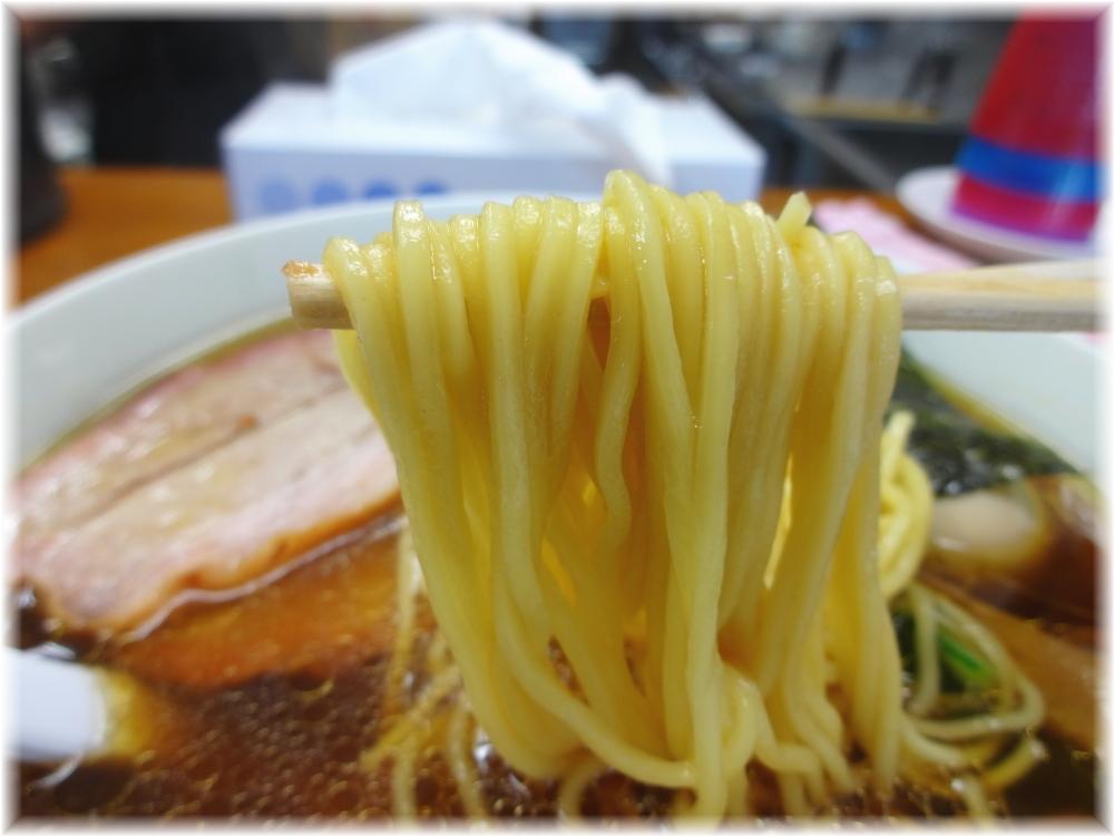 らぁめん夢 特製らーめんの麺