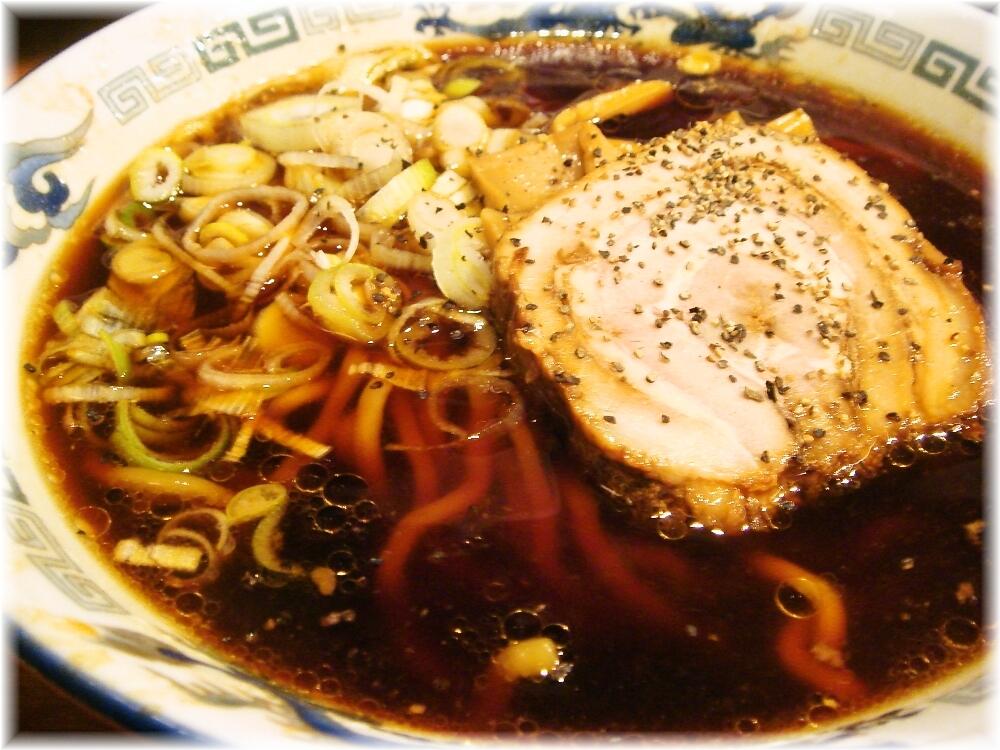 だらんま 中華そばのスープ