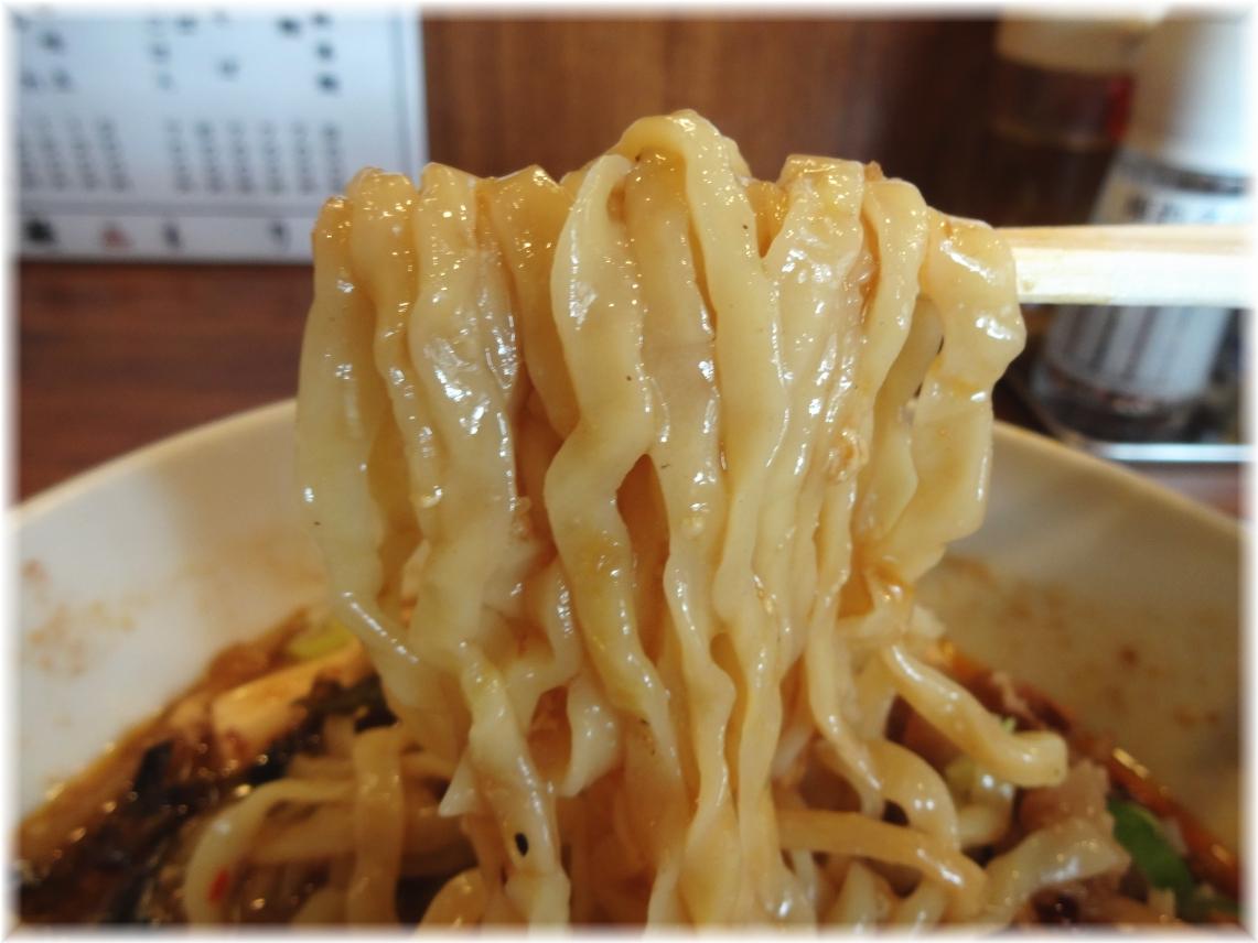 酸辣湯麺もり田 酸辣湯麺の麺