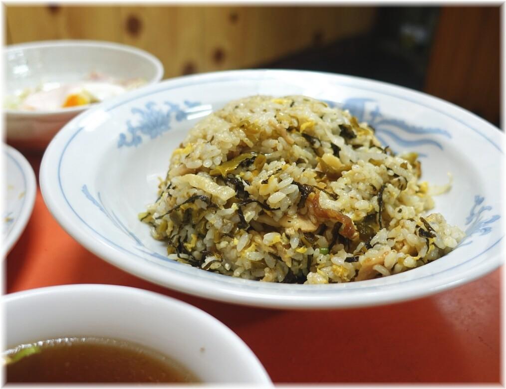 中華大元2 高菜チャーハン