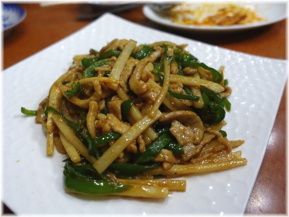 中華料理十八番 青椒肉絲