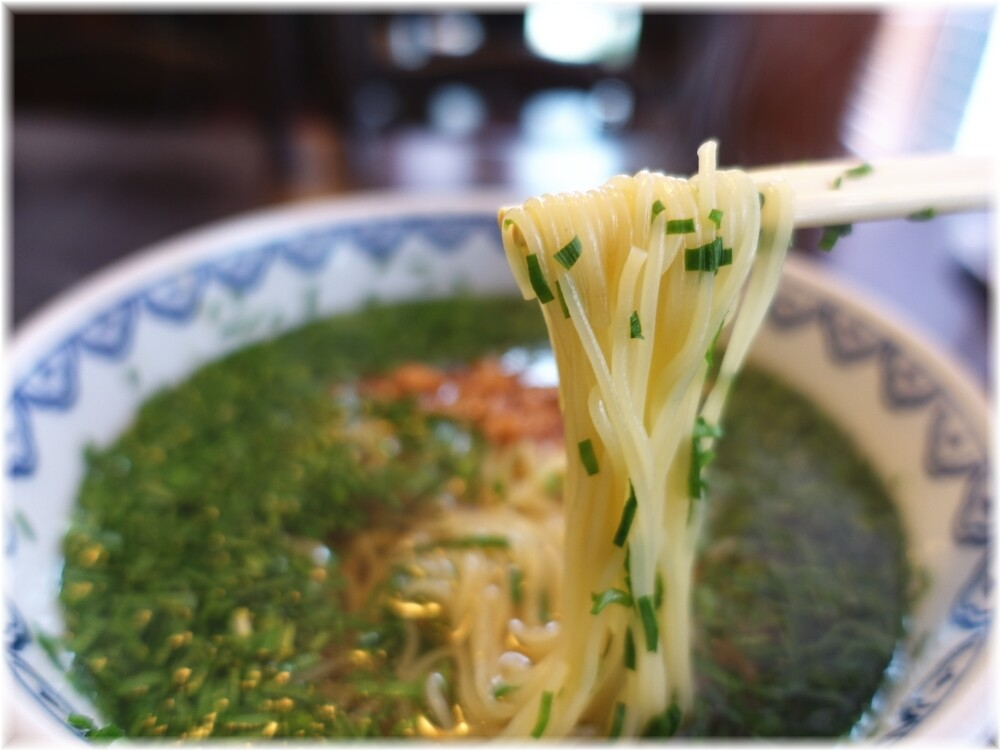 BIKA(美華)韮菜湯麺(ニラそば)の麺