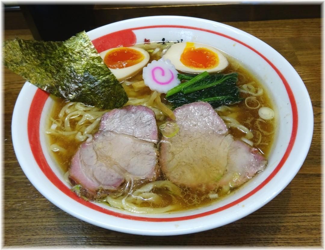 麺壱吉兆2 中華そば+煮玉子
