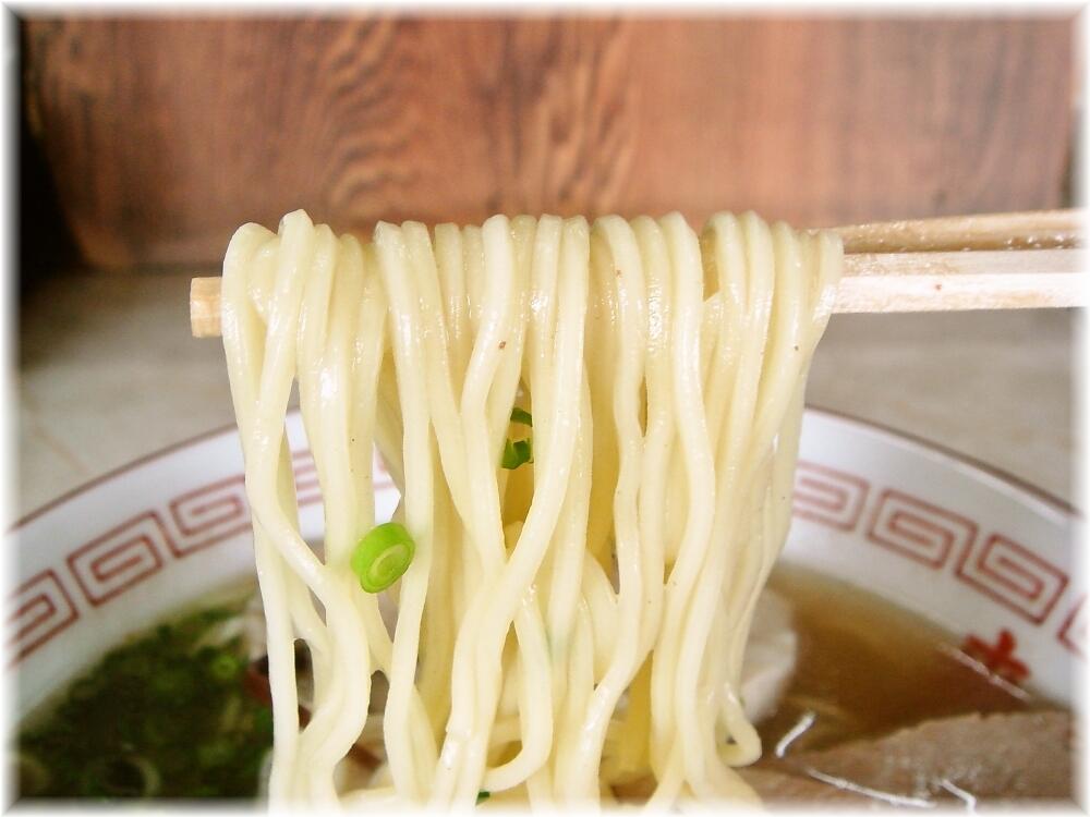 来々軒(宮若) ラーメンの麺