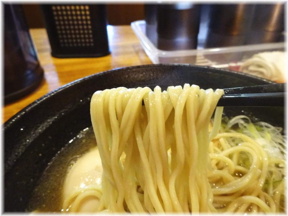 麺屋ひな多 鯵煮干しそばの麺