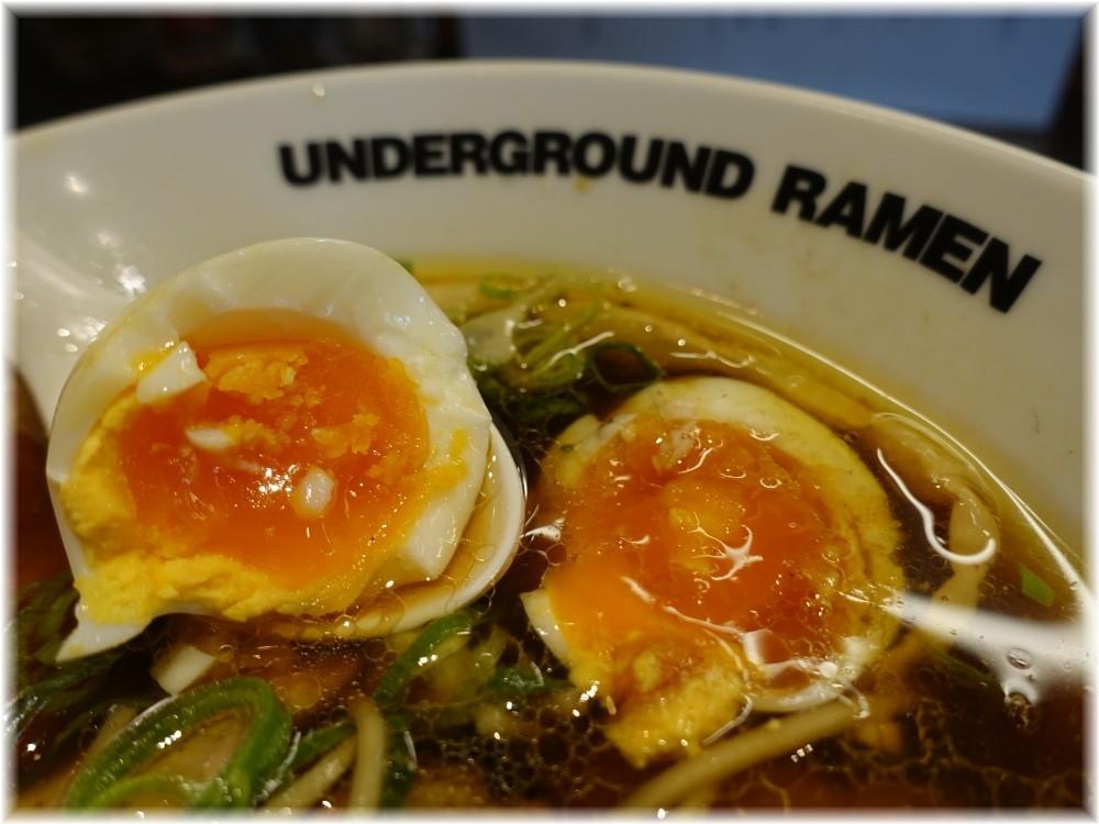 UNDERGROUND RAMEN川越 特製中華そばの味玉