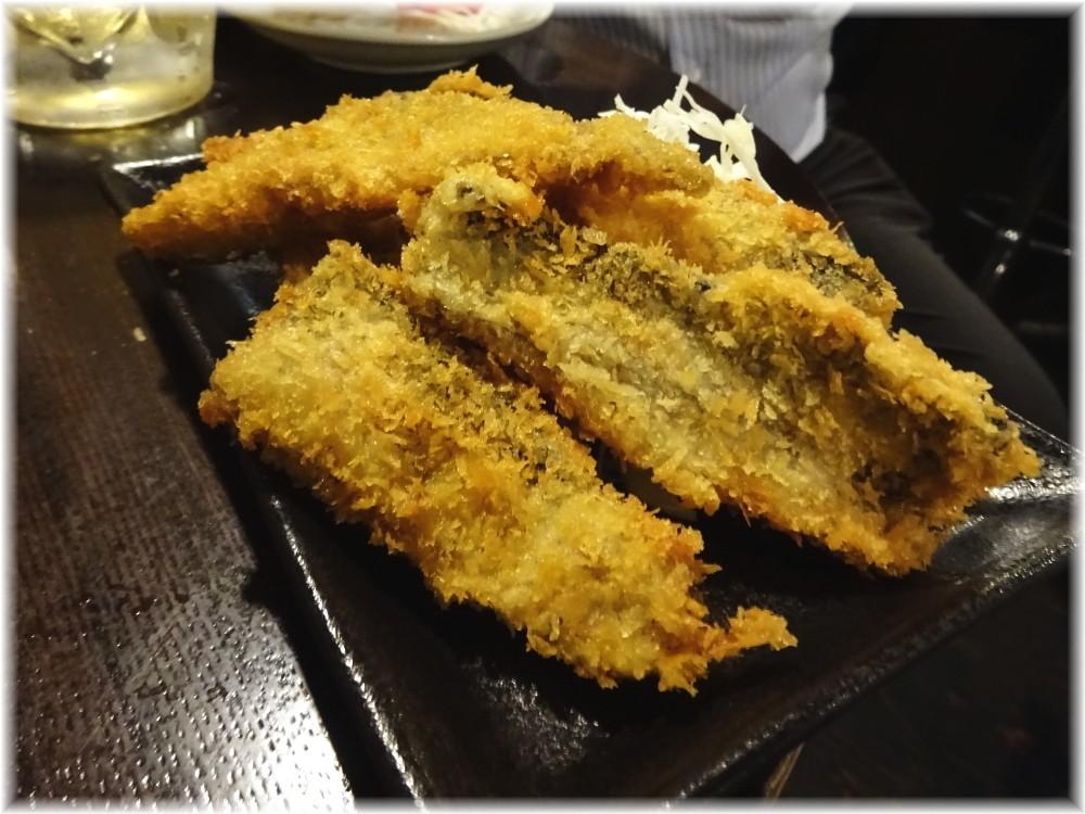 金町製麺7 秋刀魚のフライ
