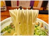 こむらさき ラーメン(チャーシュー入り)の麺