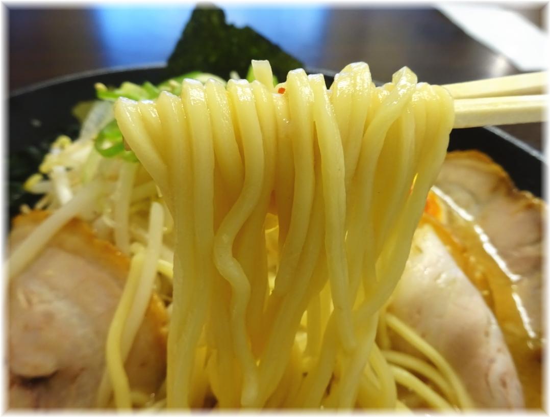 味噌の金子 特製味噌ラーメンの麺