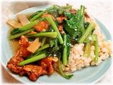 中園亭 排骨炒飯(ロース炒飯)