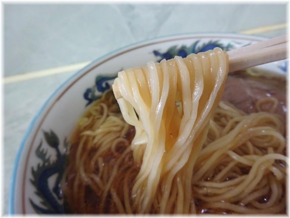 丸長宮原店 ラーメンの麺