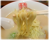 寿がきや 名古屋エスカ店 白ラーメンの麺