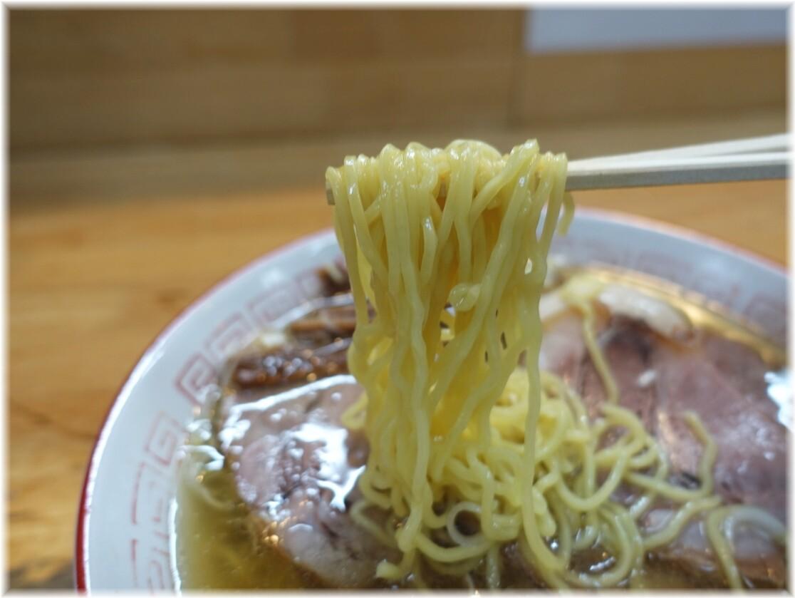 中華そばさとう2 中華そばの麺