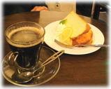 プルーカフェ ケーキセット