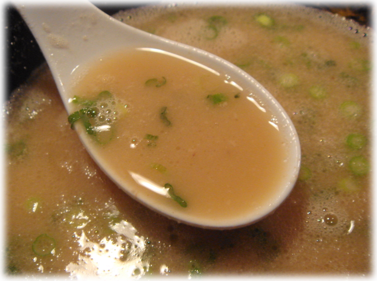一幸舎博多本店 ラーメンのスープ