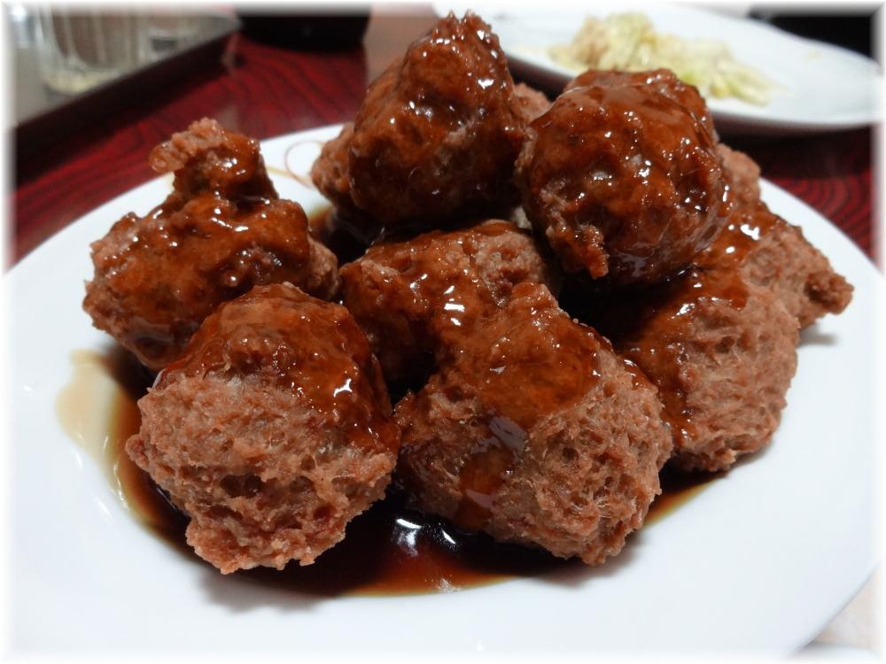 萬里本店 肉の揚げだんご(タレ)