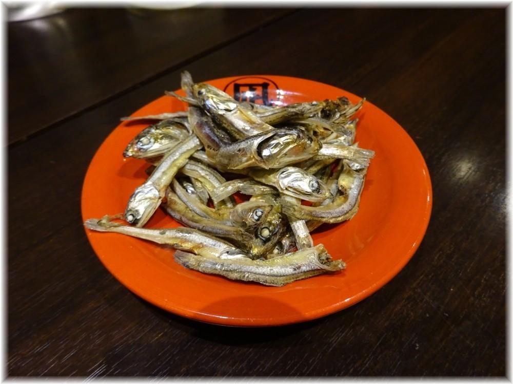 魚露温麺凪 煮干し