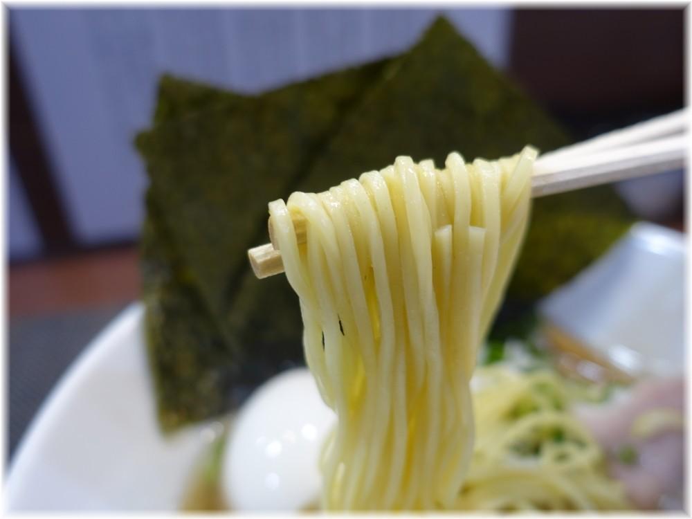 壱富士 特製塩煮干ラーメンの麺