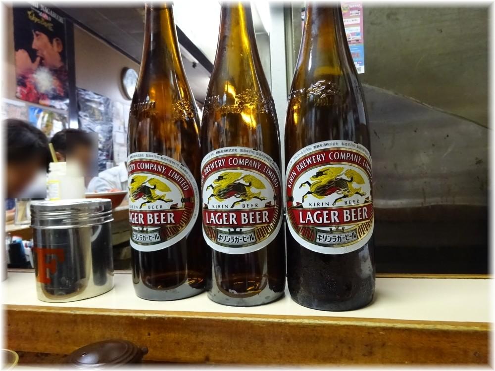八ちゃんラーメン3 ビール2