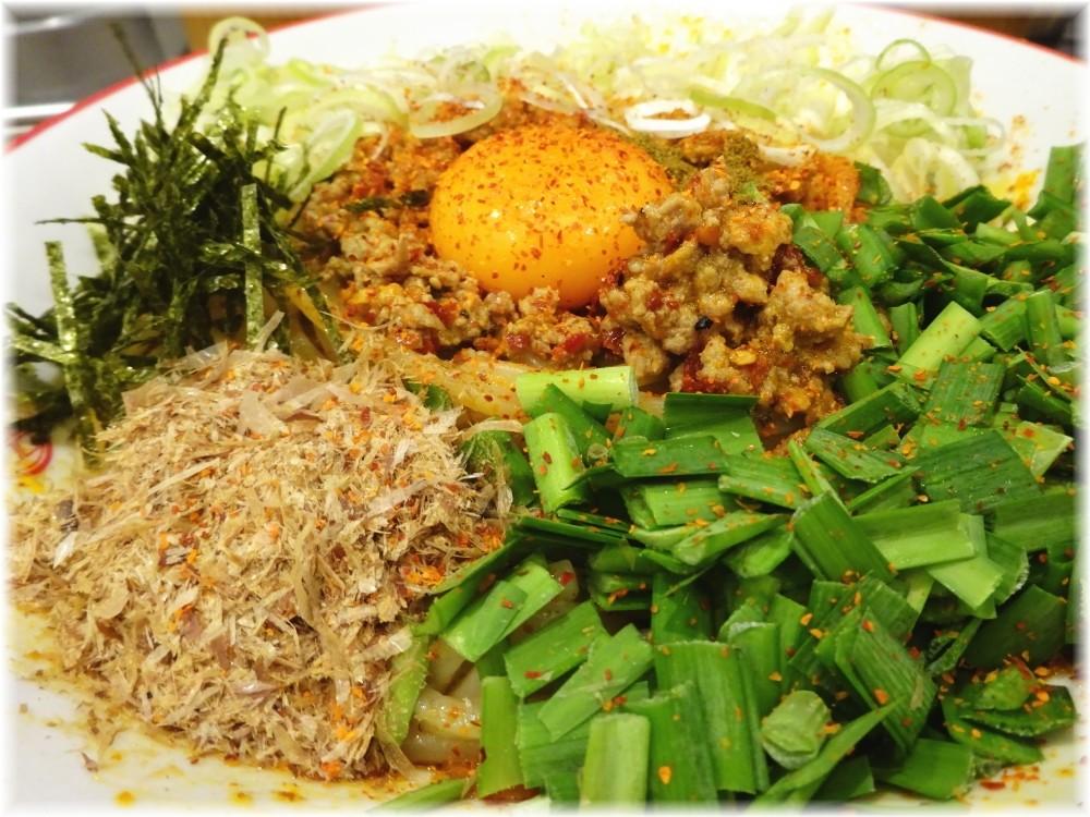 三田製麺所6 灼熱まぜそばの具