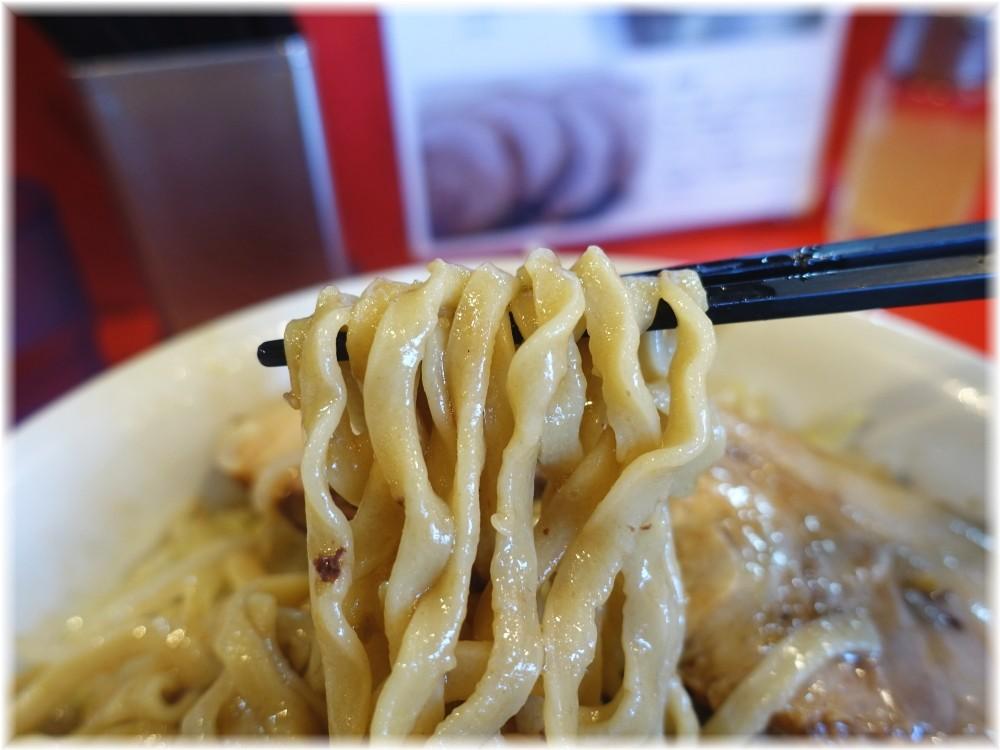 麺屋桐龍 小ラーメンの麺