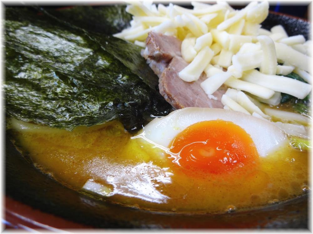 武術家4 カレーチーズらーめんのスープ