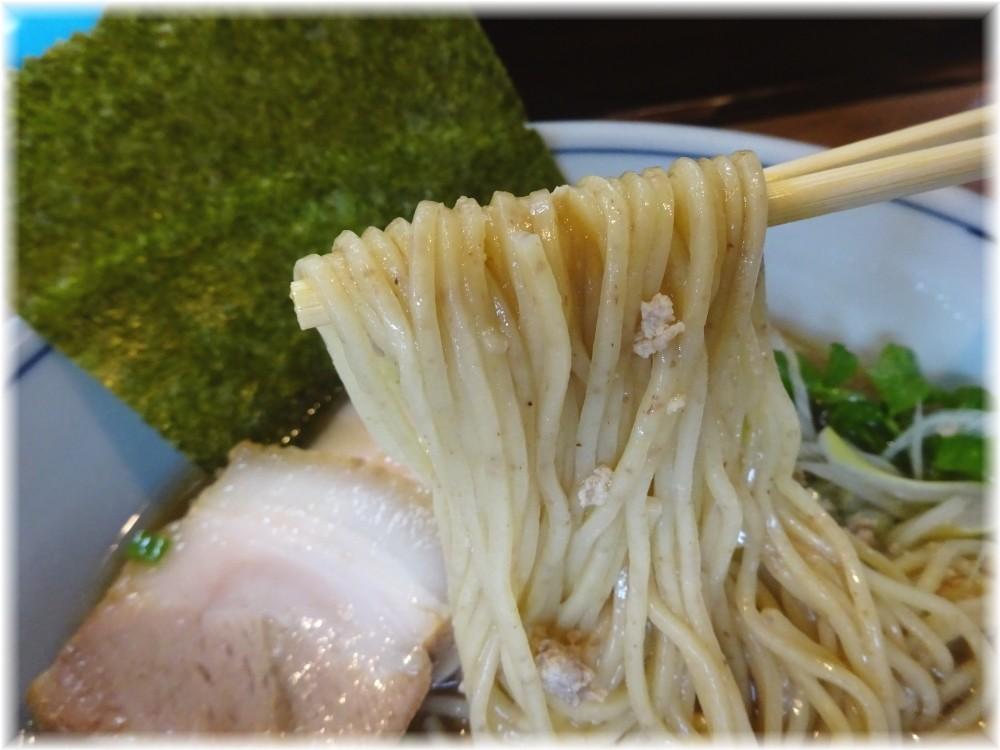 麺家Shumen Doushi 極正油SOBAの麺