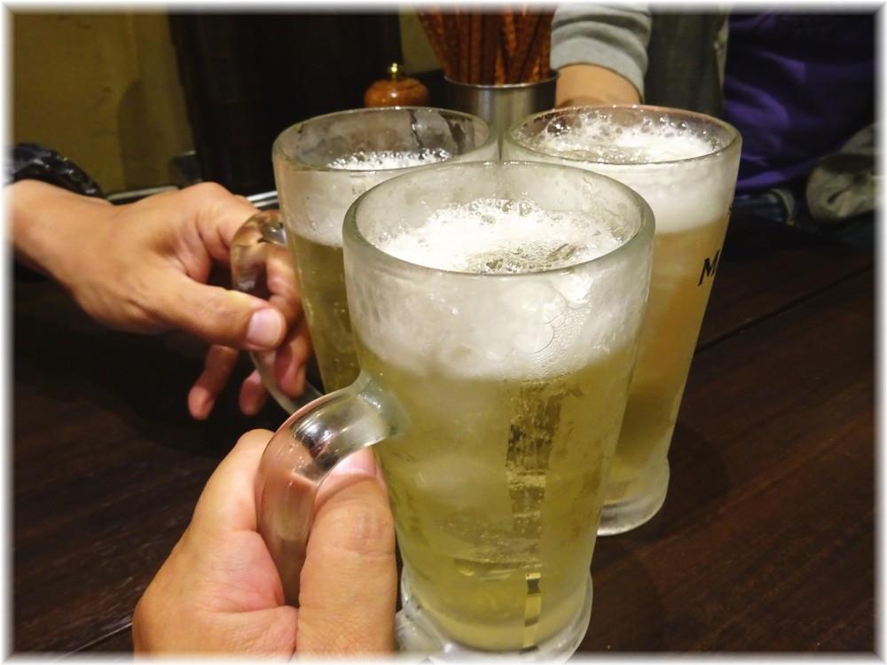 魚露温麺凪 ハイボーで乾杯