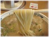幸陽閣 ラーメンの麺