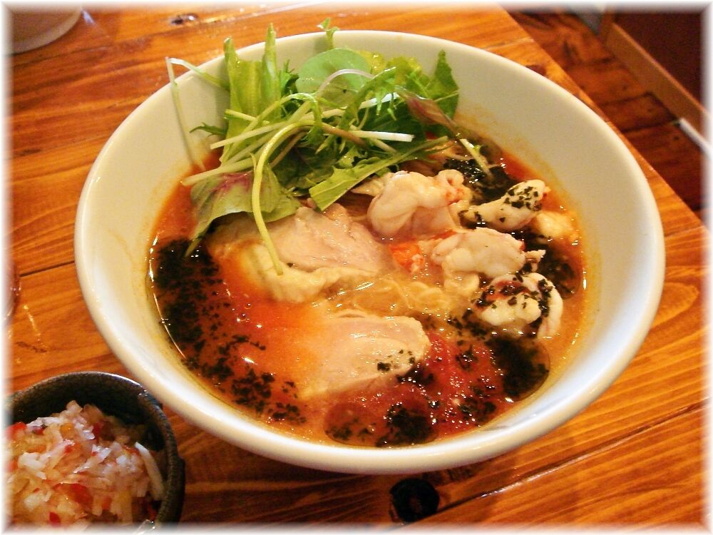 トロケの台所 海老ダシの冷やしトマト麺