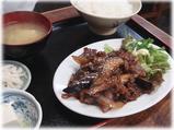 軽食 南風 牛肉と茄子味噌炒め