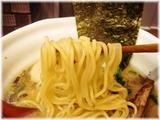 麺場ながれぼし らーめん(レギュラー)の麺