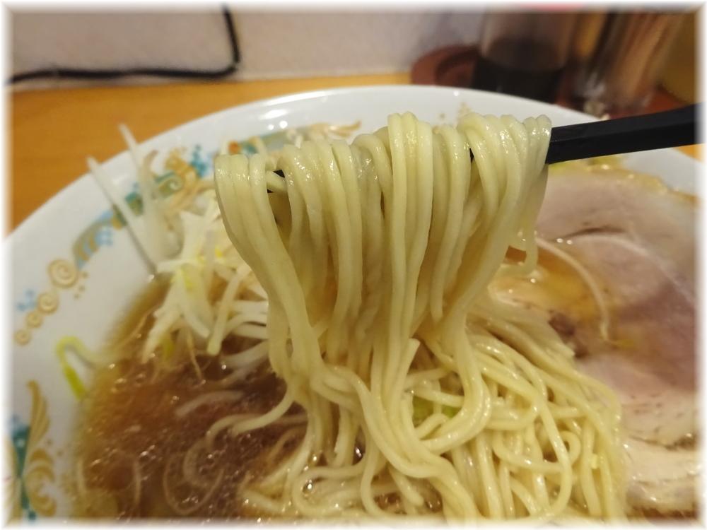 静雨庵 ラーメンの麺