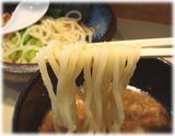 オリきん 濃コクつけ麺の麺