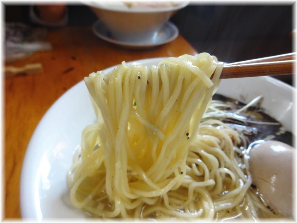 ふくろう 中華そば(塩)の麺